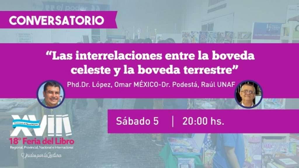 Las interrelaciones entre la bóveda  celeste y la bóveda terrestre – Phd.Dr. López, Omar -Dr. Podestá, Raúl UNAF