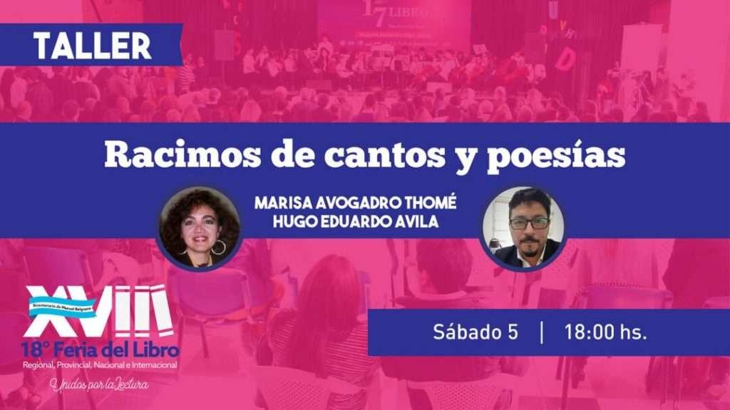 Racimos de cantos y poesías – Marisa Avogadro Thomé