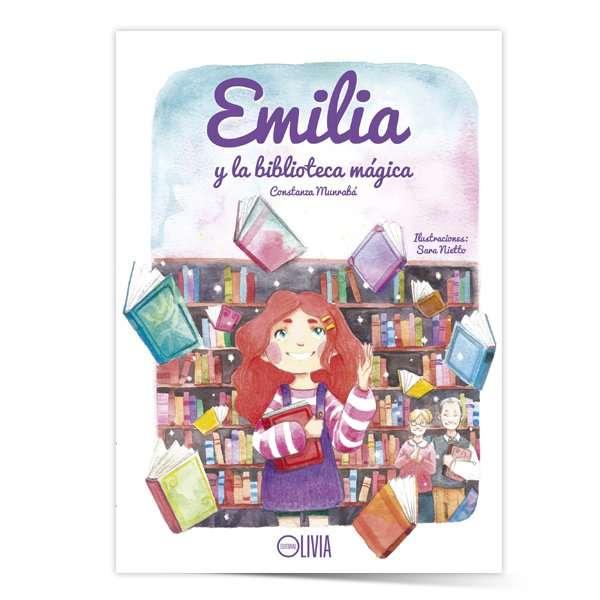 """Emilia y la biblioteca mágica"""" - Constanza Munrabá"""