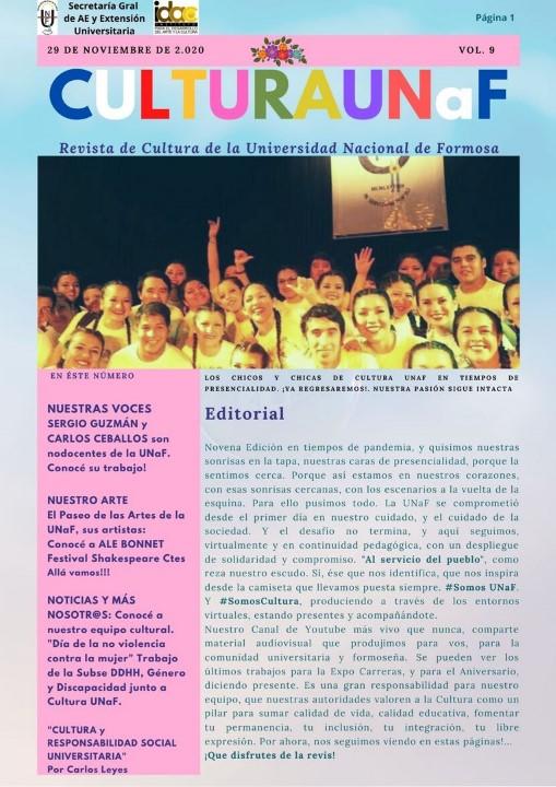 Revisa Digital Cultura UNaF - Carlos Leyes