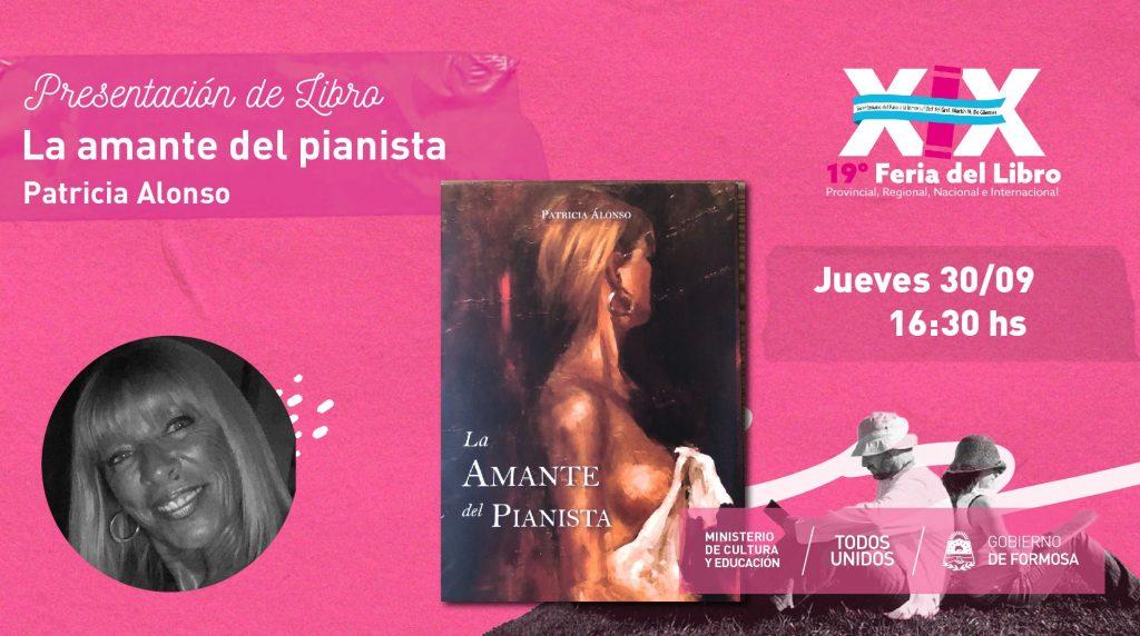 """""""La Amante del Pianista"""" – Patricia Alonso"""