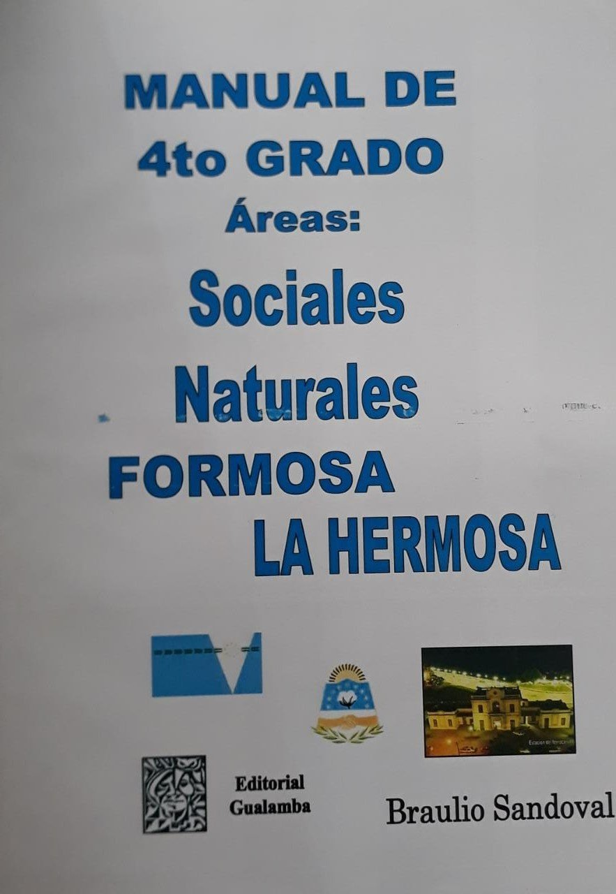 Manual de 4 Grado  Areas: Sociales, Naturales. - Brauio Sandoval