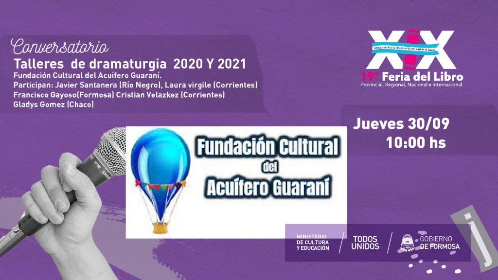 """""""Talleres  de dramaturgia  2020 Y 2021"""""""