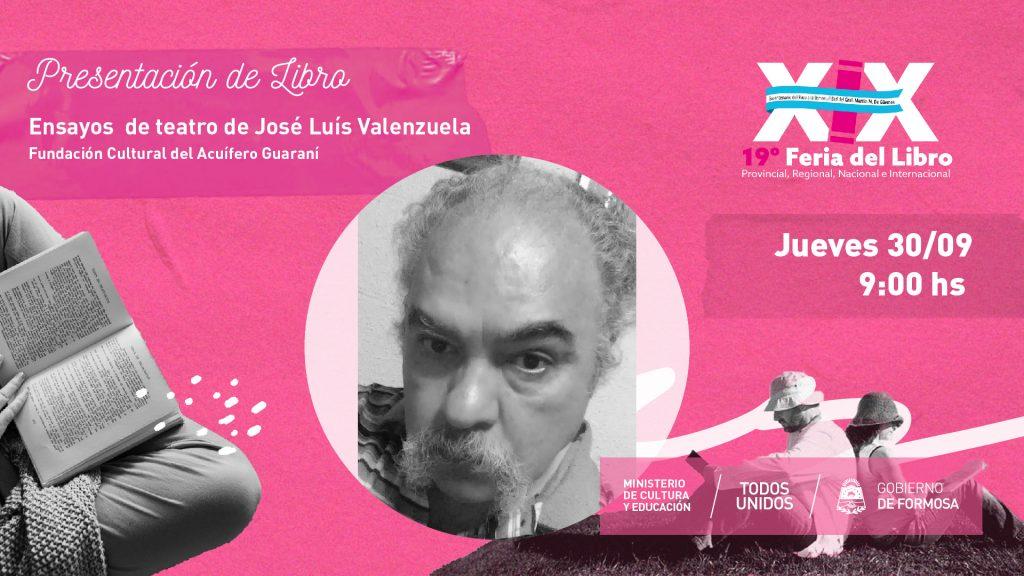"""""""Ensayos  de teatro José Luìs Valenzuela """" – Fundación Cultural del Acuífero Guaraní"""