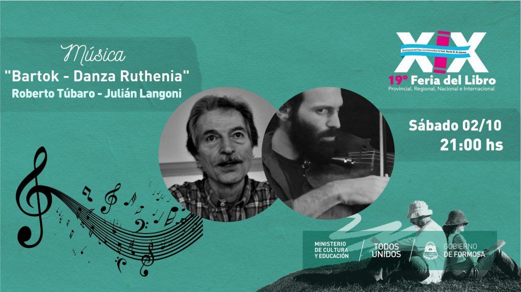 """Bartok – Danza Ruthenia"" – Roberto Túbaro – Julián Langoni"