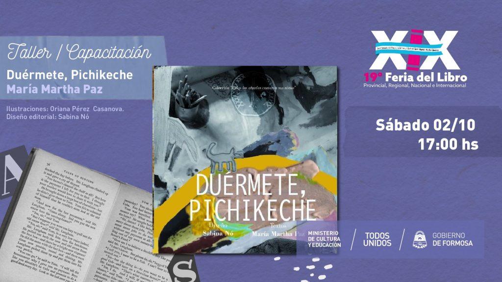 Duérmete, Pichikeche de la Colección Todas las abuelas cantan a sus nietos.La Punta del Ovillo Editorial Patagònica-