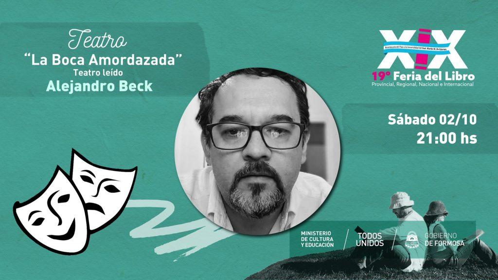 """""""La Boca Amordazada"""". Teatro Leido – Alejandro Beck"""