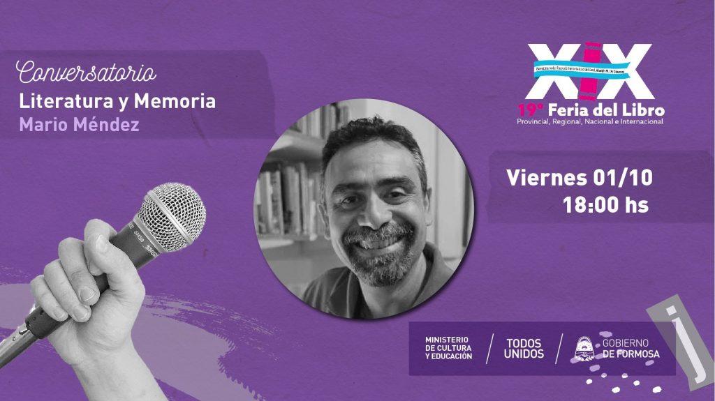 Literatura y memoria – Mario Mendez