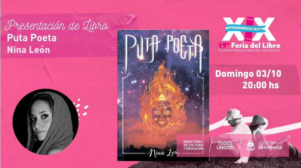 """Puta Poeta"", poemario. – Nina León"