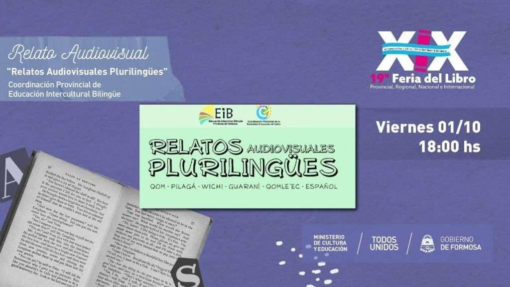 """""""Relatos Audiovisuales Plurilingües"""""""" """" – Coordinación Provincial de Educación Intercultural Bilingüe"""