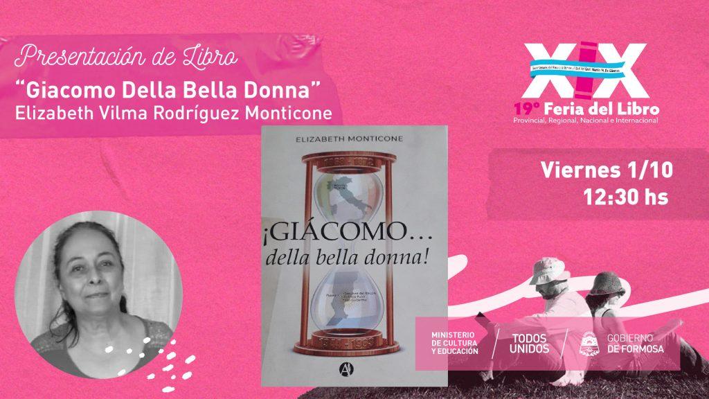 """""""Giacomo Della Bella Donna"""" – Elizabeth Vilma Rodríguez Monticone"""