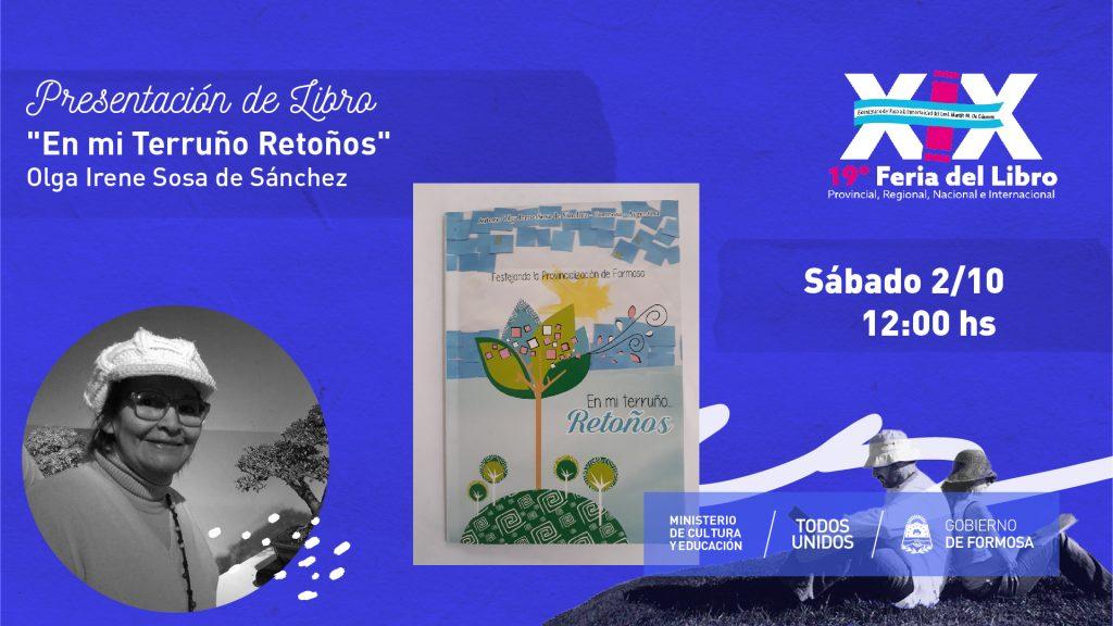"""En mi Terruño Retoños"" – Olga Irene Sosa de Sánchez"