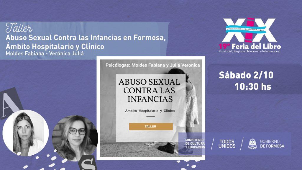 Abuso Sexual Contra las Infancias en Formosa, Ámbito Hospitalario y Clínico – Moldes Fabiana – Verónica Juliá