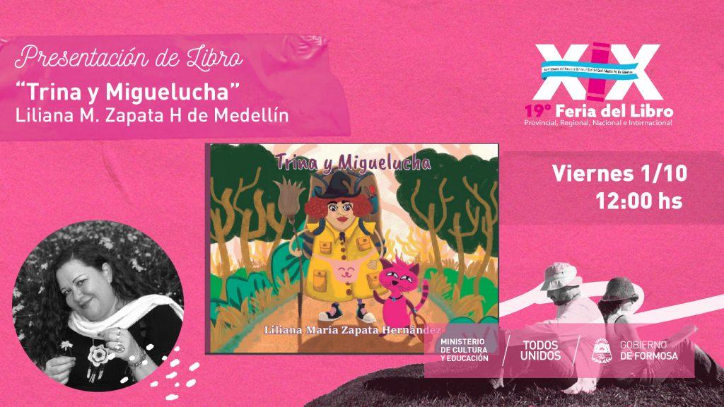"""Libro infantil """"Trina y Miguelucha"""" – Liliana M. Zapata H de Medellín"""