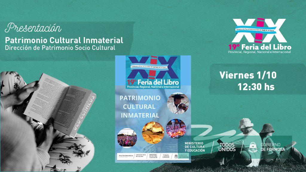 Patrimonio Cultural Inmaterial – Dirección de Patrimonio Sociocultural