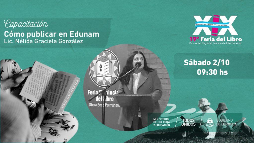 Cómo publicar en Edunam – Lic. Nélida Graciela González