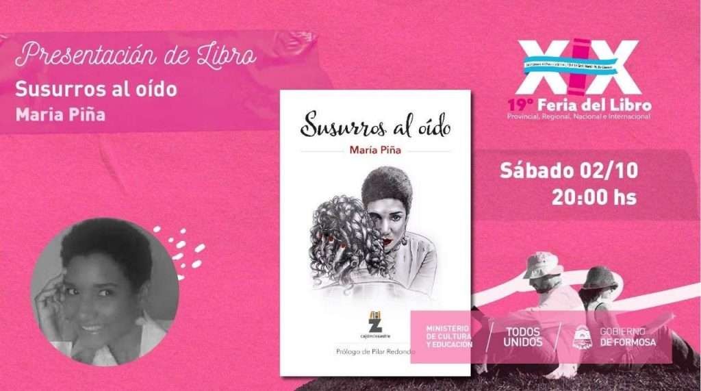 """""""Susurros al Oído """" – María Piña"""