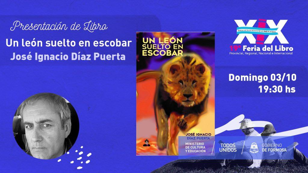Un leon suelto en Escobar.Editorial Maxbrod – Gabriel Vera