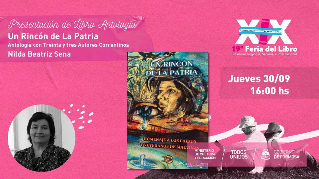 """""""Un Rincón de la Patria. Antología con 33 Autores Correntinos."""" – Nilda Sena"""